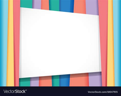 Border Background Images by Border Template With Rainbow Background Royalty Free Vector