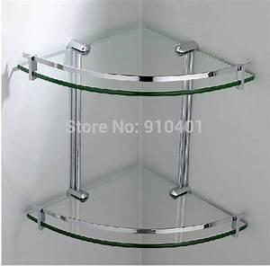 Etagere Angle Salle De Bain Telescopique : etagere d 39 angle en verre salle de bain ~ Melissatoandfro.com Idées de Décoration