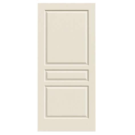 hollow interior doors jeld wen 36 in x 80 in molded textured 3 panel square