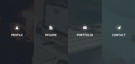 privado premium responsive resume html5 template