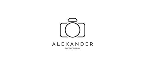 10 simple but stylish photography logo templates that you can use for free designtaxi com
