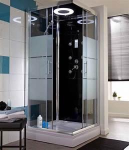 bien choisir sa cabine de douche leroy merlin With porte de douche coulissante avec mitigeur salle de bain avec douchette
