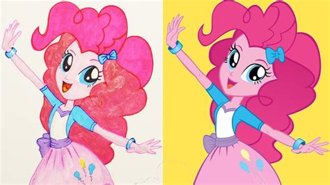 pony mlp equestria girls pinkie pie drawing