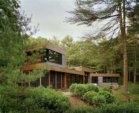 lustre de cuisine maison design au milieu de la forêt deco de salon