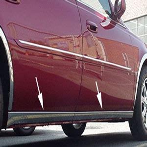cadillac deville dts dhs rocker panel trim  door