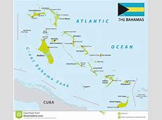 Bahamas map with flag stock illustration Image of nassau
