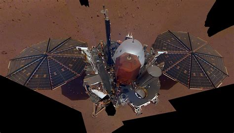 picture at selfie nasa insight takes its first selfie on mars autoevolution