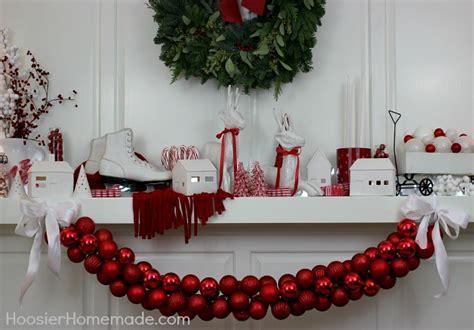 diy ornament garland  days  homemade holiday