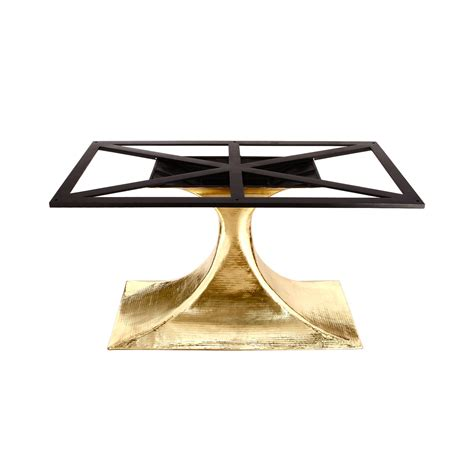 brass dining table base stockholm brass oval dining table base pairs with 95 quot top