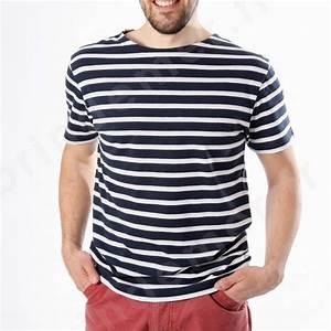 T Shirt Mariniere Homme : tee shirt marin ray et marini re manches courtes sur ~ Melissatoandfro.com Idées de Décoration