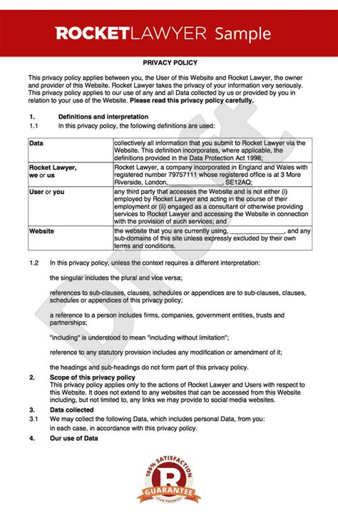 gdpr compliant privacy policy template free privacy policy gdpr compliant make a privacy notice