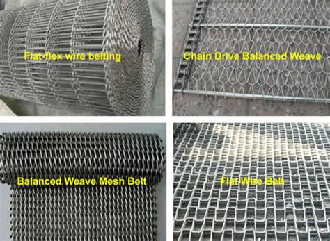 Stainless Steel Wire Mesh Conveyor Belt Rolls And Panels
