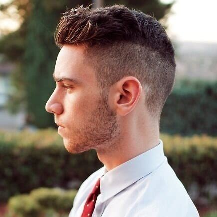 classic undercut hairstyle  point