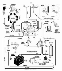 Wiring Diagram For Simplicity Riding Mower