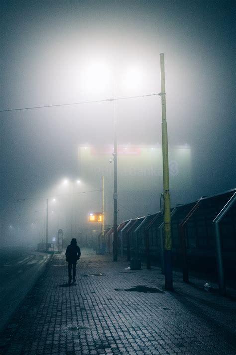stock photo  fog foggy mist