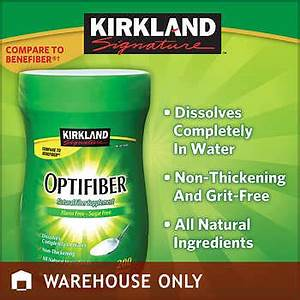 Kirkland Signature OPTIFIBER 256 Ounces