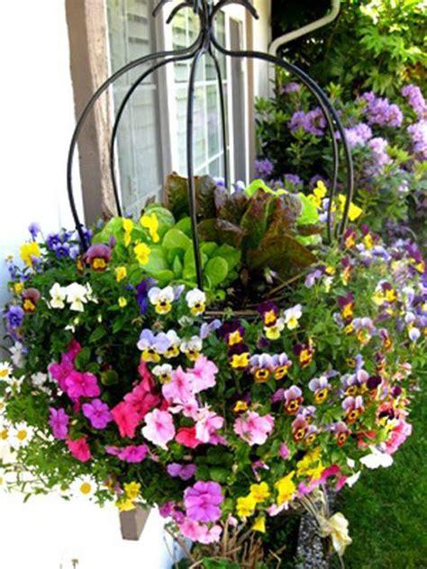 Hanging Vegetable Garden by Vertical Gardening Ideas Bonnie Plants