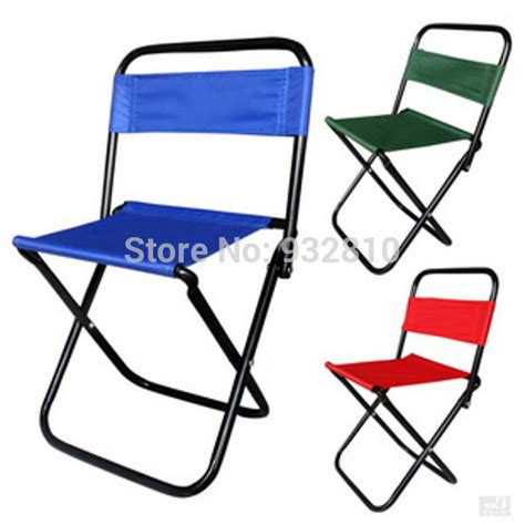bearing 80kg portable mini cing chair outdoor