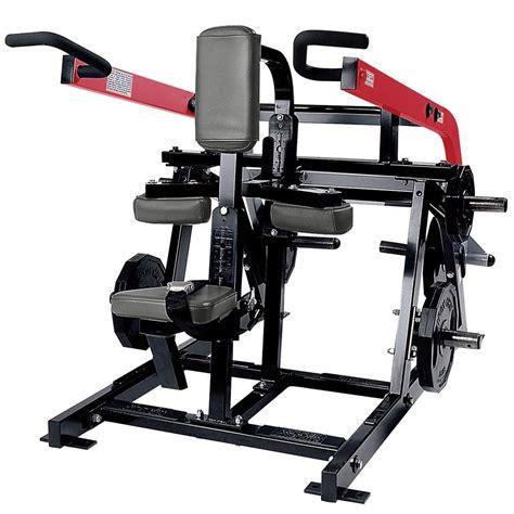 Hammer Strength Plateloaded Seated Dip  Life Fitness