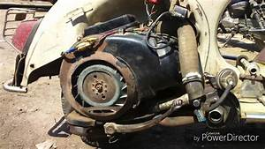 Turbocharger In Two Stroke Petrol Engine Scooter