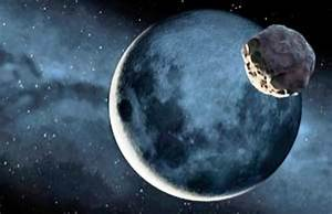 Asteroid Moon - Pics about space