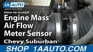 How To Install Replace Engine Mass Air Flow Meter Sensor