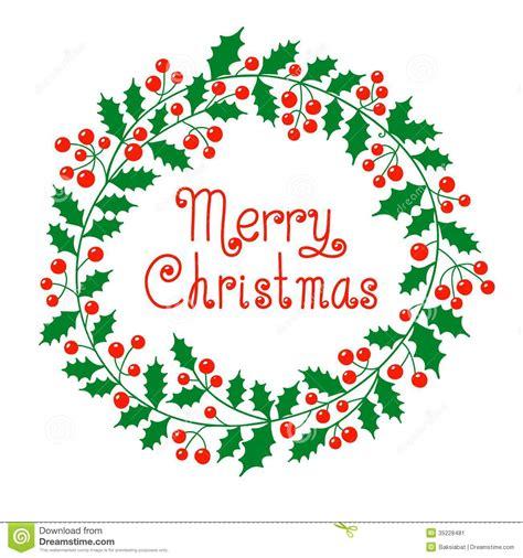 christmas wreath stock vector illustration of ornament 35228481