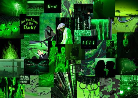 neon green aesthetic laptop wallpaper in 2020 green