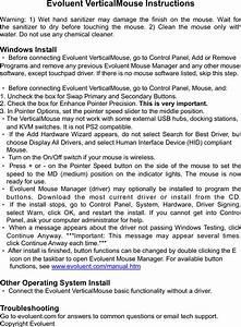Evoluent Vm4rw Evoluent Verticalmouse 4 Wireless User Manual