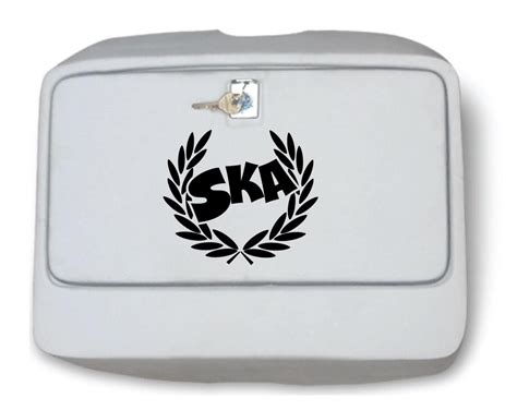 ska vespa toolbox sticker scooter or side panel sticker mod skinhead ebay