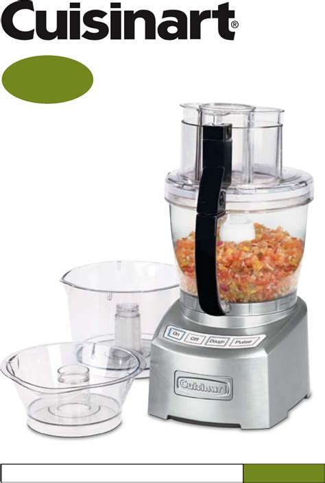 cuisine manuel cuisinart food processor fp 14 user guide manualsonline com