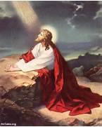 Jesus Christ Praying W...Jesus
