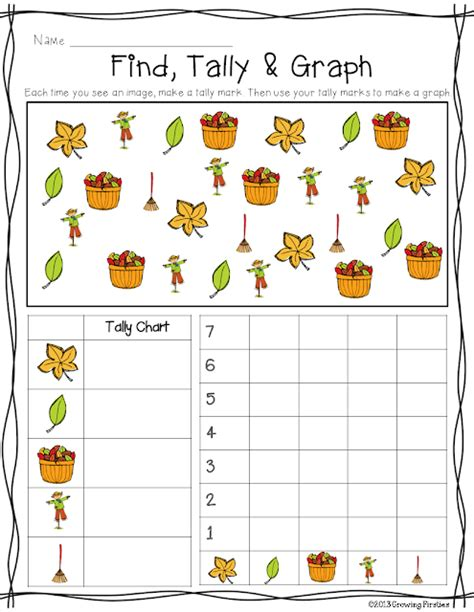 Primary Chalkboard Fire Safety Find, Tally & Graph Freebie