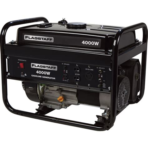 Generator Tool by Flagstaff Portable Generator 4 000 Surge Watts 3 200