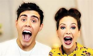The gallery for --> Alfie Deyes And Zoe Sugg 2014