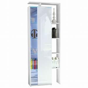 Vetrina moderna Gamonda credenza design con led mobile soggiorno