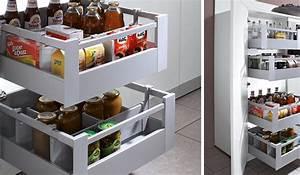 Meuble Bailleux Mondeville : placard rangement cuisine beautiful amnagements espace ~ Premium-room.com Idées de Décoration