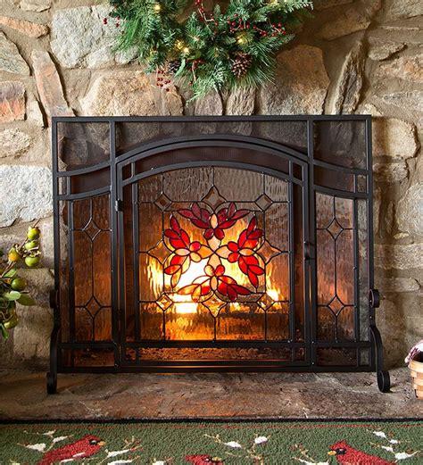 glass fireplace screen 10 best decorative fireplace screens 2016 best mesh