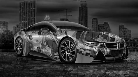 bmw  anime aerography city car  el tony