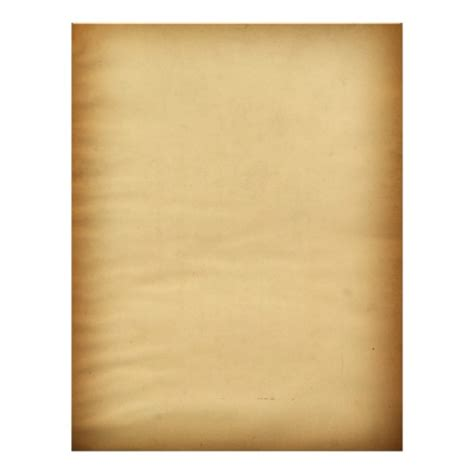 vintage blank plain background paper letterhead