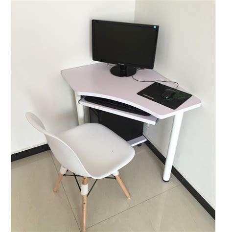 bureau ordinateur en coin table coin ordinateur portable ordinateur de bureau bureau