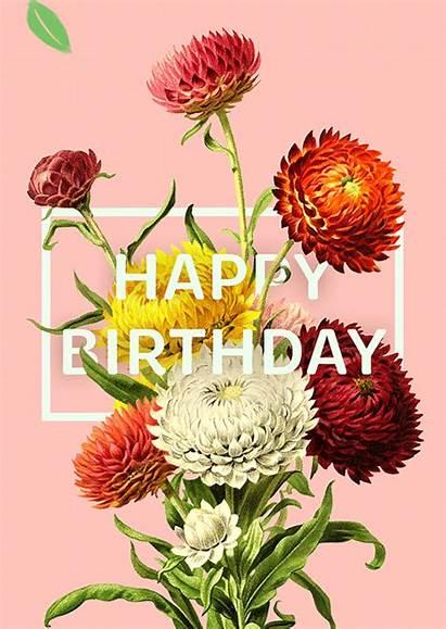 Ecard Happy Birthday Bloom Tree