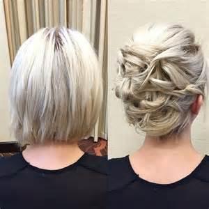 coiffure mariage cheveux mi lachã s les 25 meilleures idées de la catégorie chignon cheveux court sur longs courts