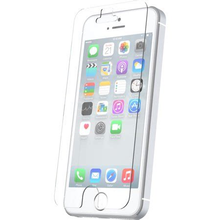 onn tempered glass screen protector for iphone 5 5s se
