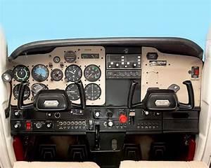 Cessna 172 Instrument Panel Diagram
