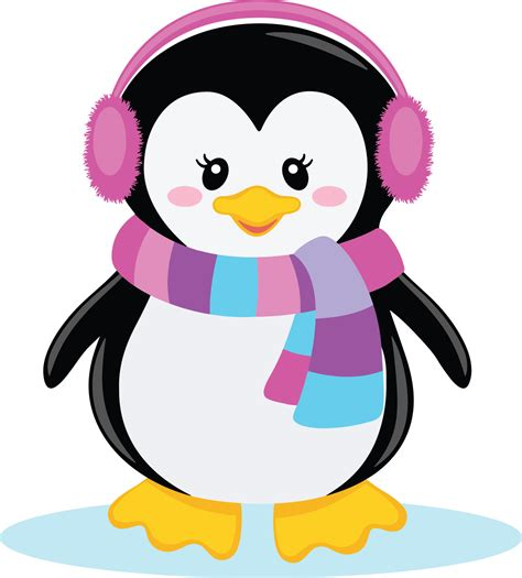 Penguin Clipart Printable  Pencil And In Color Penguin
