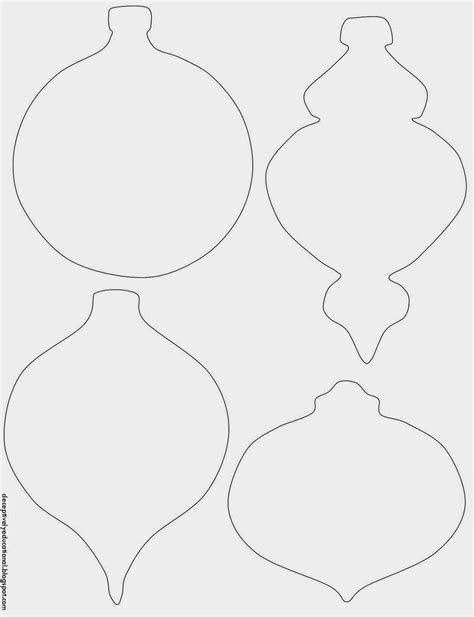 Ornament Template Before My Boys Got Home From School I Printed Theornament