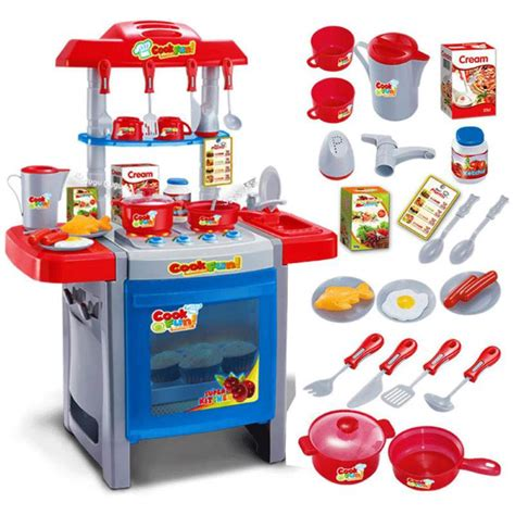 childrens kitchen accessories pretend play kitchen set w 25 accessories buy 2170