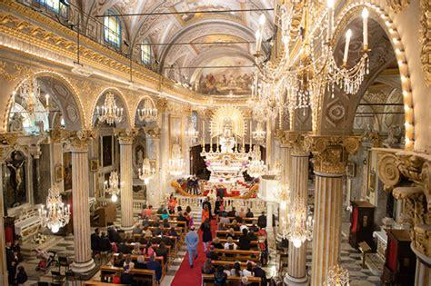 colorful destination wedding   italian riviera