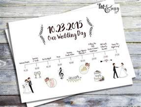 Wedding Event Program Templates